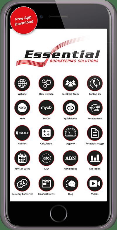 Essential Bookkeeping Smartphone App